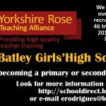 Yorkshire Rose Teaching Alliance Advert